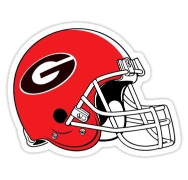 University Of Georgia Football Helmet Sticker Nfl Kansas City