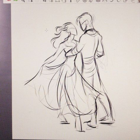 Romantic-Couple-Pencil-Sketches-and-Drawings