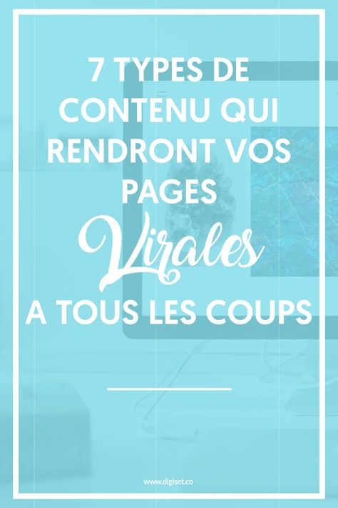 Marketing de contenu: technique de la page virale 🔥