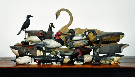 Large collection of decoys coming up for auction Spring 2015!