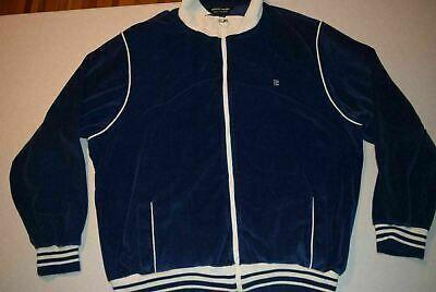 Vtg 80s Pierre Cardin Velour Track Jacket Mens Xl Mens Jackets Jackets Track Jackets