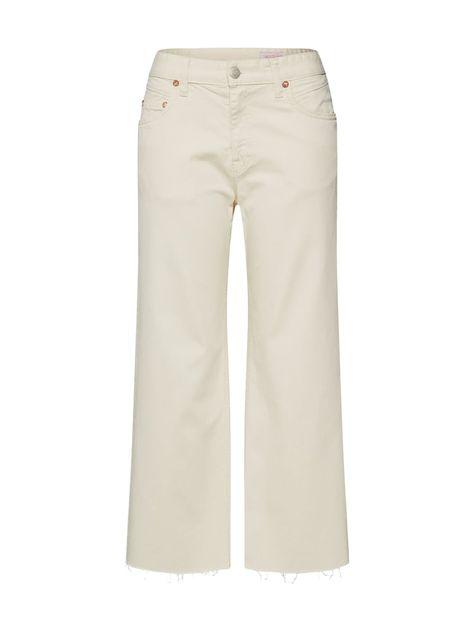 Herrlicher Jeans Norma Sailor Cropped Damen Naturweiss Grosse 30