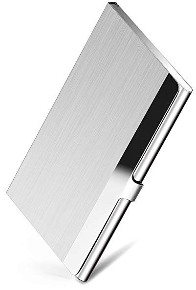 Maxgear Professional Business Card Holder Business Card Case Stainless Steel Card Holder Stainless Steel Card Holder Business Card Case Business Card Holders