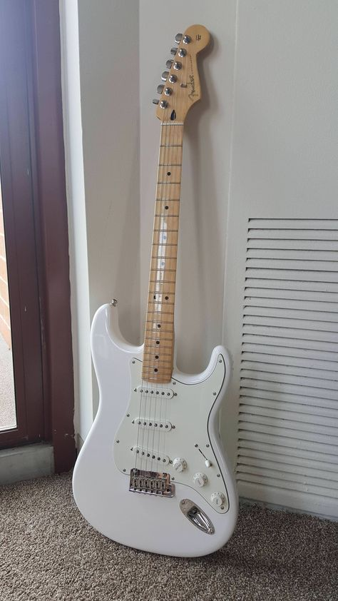 These fender stratocaster are really nice.
