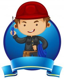 Resultado De Imagem Para Parabens Eletricista Design De Logotipo