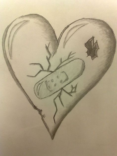 Pretty Broken Hearts Drawings Free download cool broken hearts drawings broken h #drawings #art