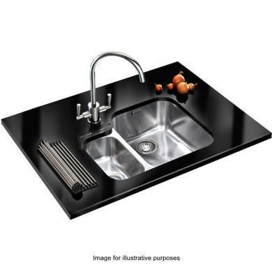 Buy Franke Arx 160 Ariane 1 5 Bowl Undermount Stainless Steel Sink With Left Hand Small Bowl 122 0154 926 From Appliances Direct Undermount Stainless Steel Sink Stainless Steel Sinks Sink