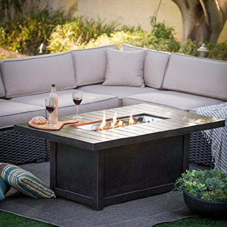 Propane Patio Fire Pit W