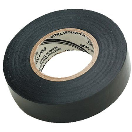 Seachoice Black Electrical Tape 3 4 Inch X 60 Size 4 Inch Electrical Tape Tape Black