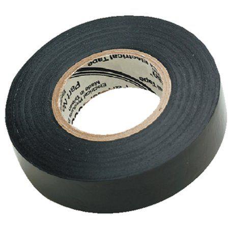 Seachoice Black Electrical Tape 3 4 Inch X 60 Size 4 Inch Electrical Tape Tape Black