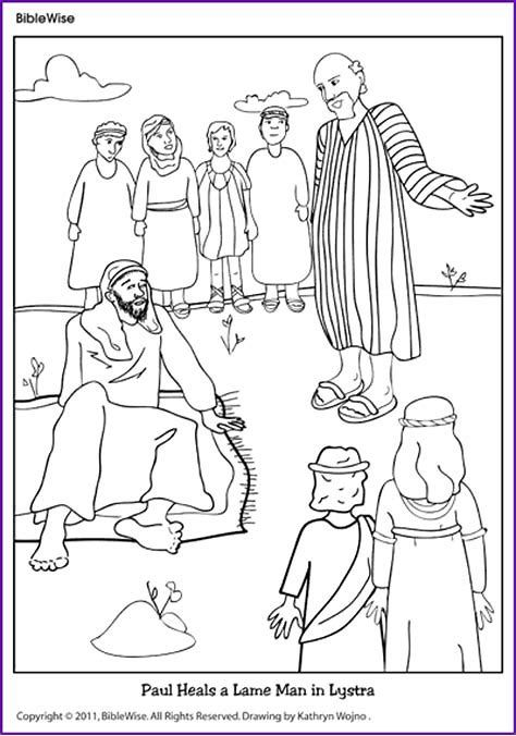 Image Result For Paul And Barnabas In Lystra Worksheets Sunday