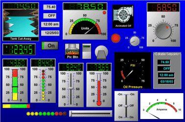 A downloadable free version of Human-Machine Interface (HMI) SCADA