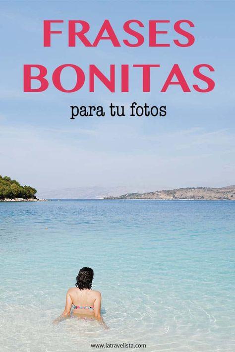 Frases para fotos (2020) - BONITAS frases de amistad, amor...