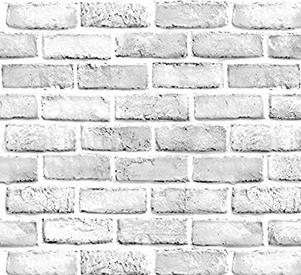 White Brick Wallpaper Brick Peel And Stick Wallpaper Contact Paper Or Wall Paper Self Adhesive Brick Wallpaper Brick Wallpaper Grey White Brick Wallpaper