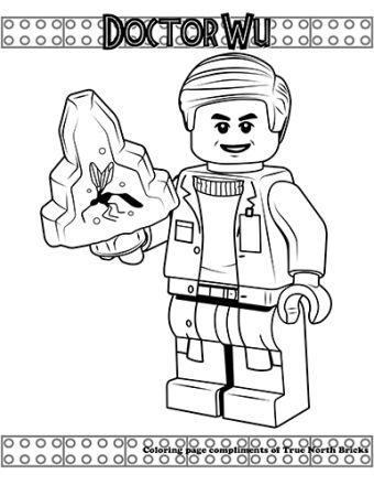 Jurassic World Dr Wu Giveaway True North Bricks Jurassic World Ausmalbilder Ausmalen