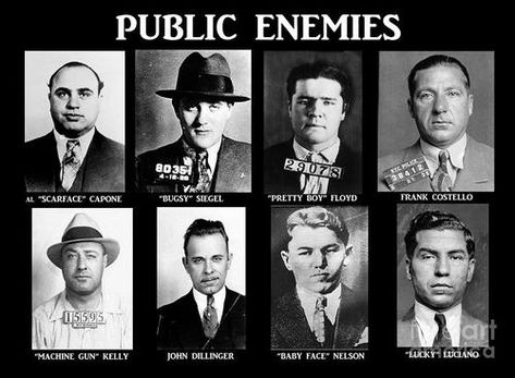 Damn right ~PublicEnemy#1 #mobsters #mafia #mobkings