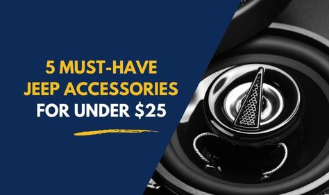 5 Must Have Jeep Wrangler Accessories For Under 25 In 2019 Lights 2 Door Je Jeep Wrangler Accessories Wrangler Accessories Jeep Wrangler Accessories Decals