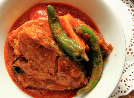 This fish curry is thick, aromatic, and addictive. It is no wonder the late…
