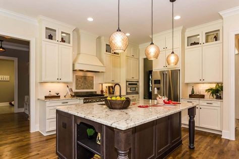 raleigh custom builders   homesdickerson   kitchen