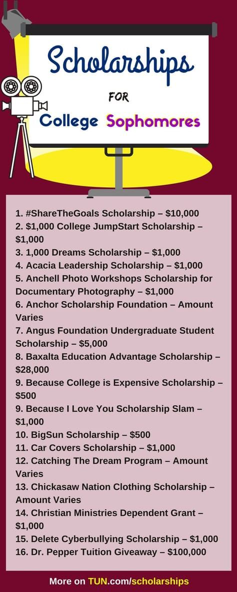 Grants For College >> Scholarships For College Sophomores Student Scholarships