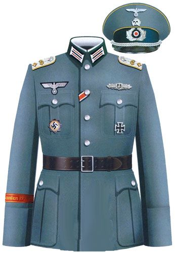 униформа немецкой кавалерии