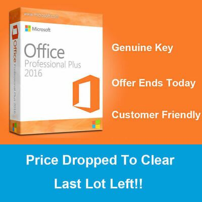 Ebay Link Ad Microsoft Office 2016 Pro Plus Key Ms Office Professional Plus Key 32 64 Bit In 2020 Microsoft Office Microsoft Pc For Sale