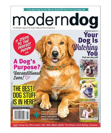 Look What I Found On Zulily Modern Dog Magazine Subscription Zulilyfinds Modern Dog Magazine Dog Magazine Modern Dog