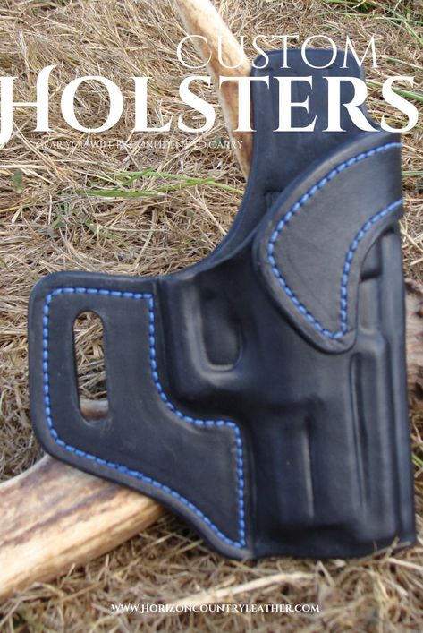 Leather Avenger style holster for an XDM 3 8 from Horizon