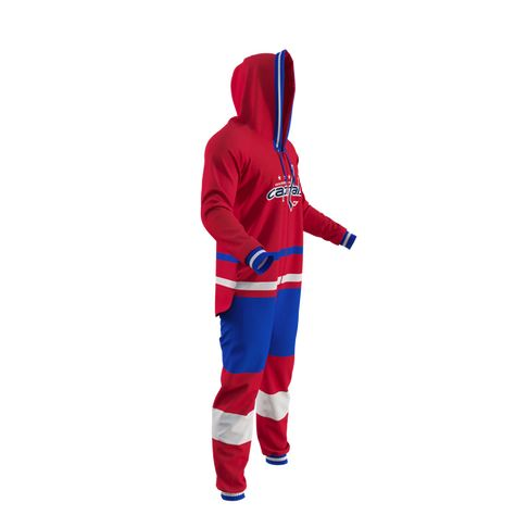 NHL Onesie - Washington Capitals - Hockey