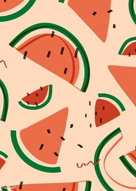 Leaves Illustration, Pattern Illustration, Free Vector Illustration, Vector Pattern, Pattern Art, Print Patterns, Jungle Pattern, Fruit Pattern, Drum