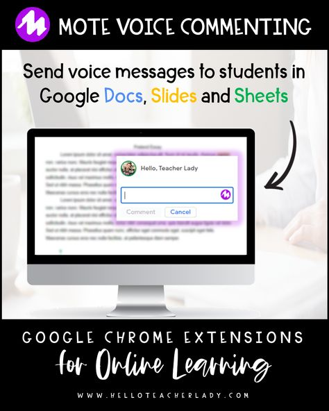 5 Helpful Google Chrome Extensions for Online Distance Learning — Hello, Teacher Lady