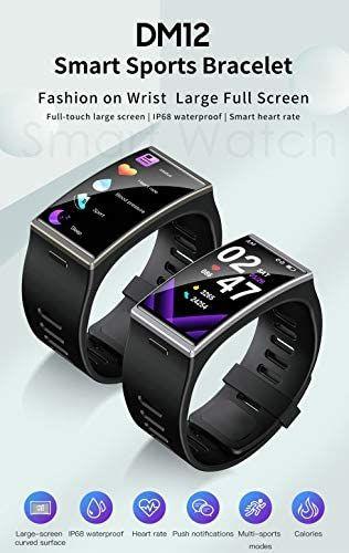 images?q=tbn:ANd9GcQh_l3eQ5xwiPy07kGEXjmjgmBKBRB7H2mRxCGhv1tFWg5c_mWT Smart Watch Large Screen Heart Rate Bracelet