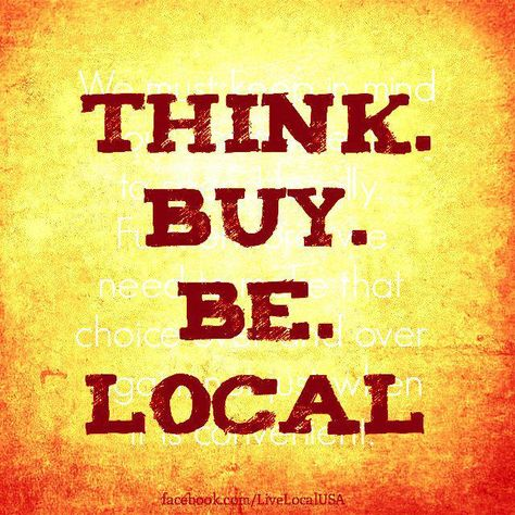 Celebrate diversity by supporting locally-owned businesses.