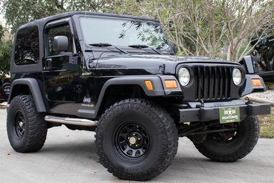 2005 Black Jeep Wrangler Sport 15995 Jeep Wrangler Sport