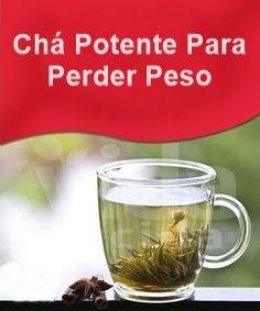 ch Chá Poderoso Para Perder Peso...