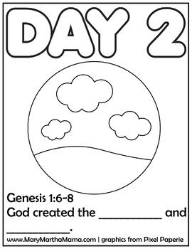 Creation Coloring Pages Creation Coloring Pages Coloring Pages
