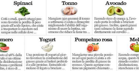 verdure che aiutano a perdere peso