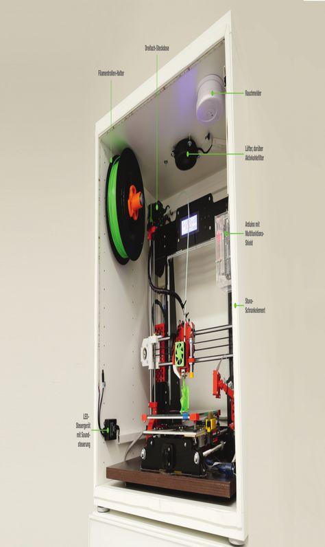 19 Luxus Schrank Fur Drucker In 2020 3d Drucker 3d Drucker Vorlagen Drucken