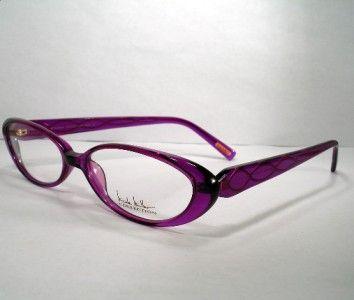 nicole miller new women eyeglass frame motif purple nicole miller ebay and woman - Ebay Eyeglasses Frames