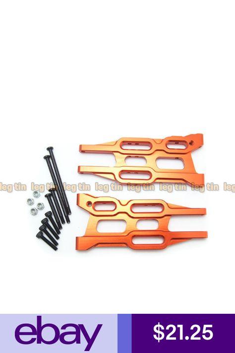 LT14002o Orange for HPI Bullet MT 1 pair Alloy Front Suspension Arm Set