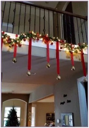 73 Cheap And Easy Diy Christmas Decor Ideas That Proves Elegance Is Not Expensive Hike N Dip Christmas Staircase Decor Outdoor Christmas Decorations Indoor Christmas Decorations