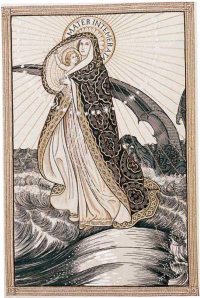 Litany of Loreto Embroideries