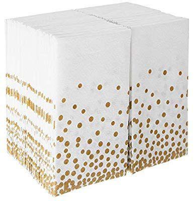 Napkins Bulk For Wedding Reception Disposable Linen Feel Guest Towels For Bathroom Cloth Hand Towel For Powder R Paper Guest Towels Guest Towels Linen Feel Paper hand towels for powder room