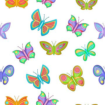 Float Butterfly Pink Flying All Over The In 2020 Butterfly Background Butterfly Watercolor Butterfly Illustration