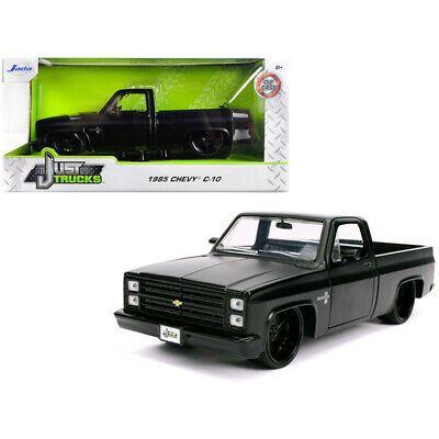 Ad 1985 Chevrolet Silverado C 10 Pickup Truck Matt Black With