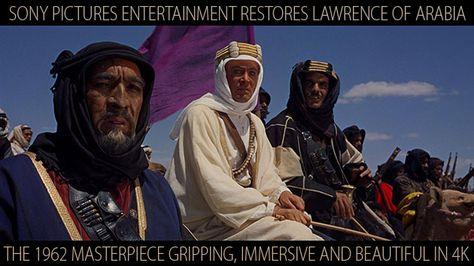 Creative COW presents Lawrence of Arabia: Sony's Beautiful 4K Restoration -- Film History & Appreciation Feature