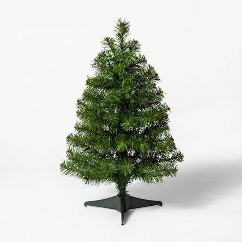 2ft Pre Lit Alberta Spruce Clear Lights Artificial Christmas Tree Wondershop Green Alberta Spruce Festive Trees