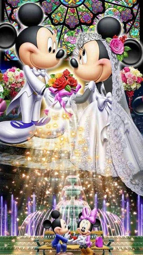 Wedding Couple Cartoon Minnie Mouse 24+ Super Ideas