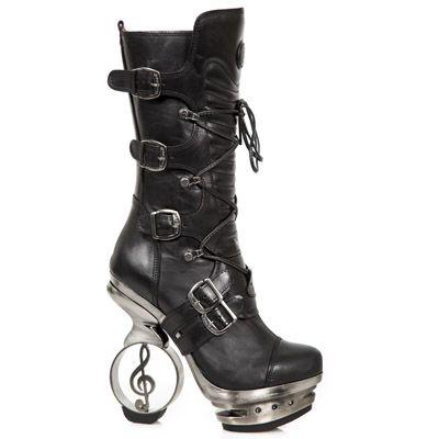 acheter pas cher bd539 0b06f Metallic m-106n-c25   Shoes   Shoes, Boots, New rock boots