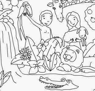 Adán Y Eva Fueron Los Primeros Seres Humanos Hombre Y